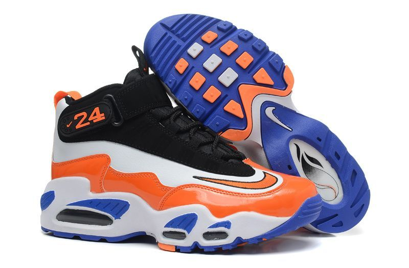 new nike air griffey max 1 black white blue orange  5015d7bc1