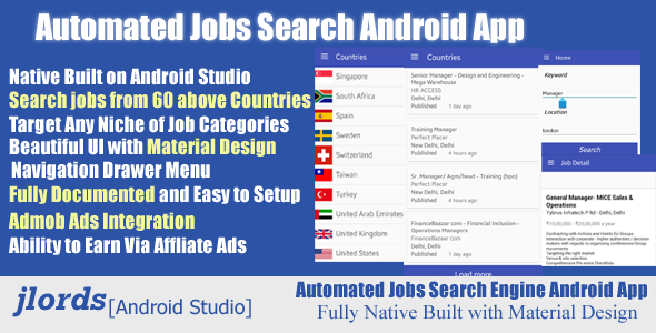 Indeed Resume Search Amusing Automated Job Search Engine Full Android Appjlords Automated Job