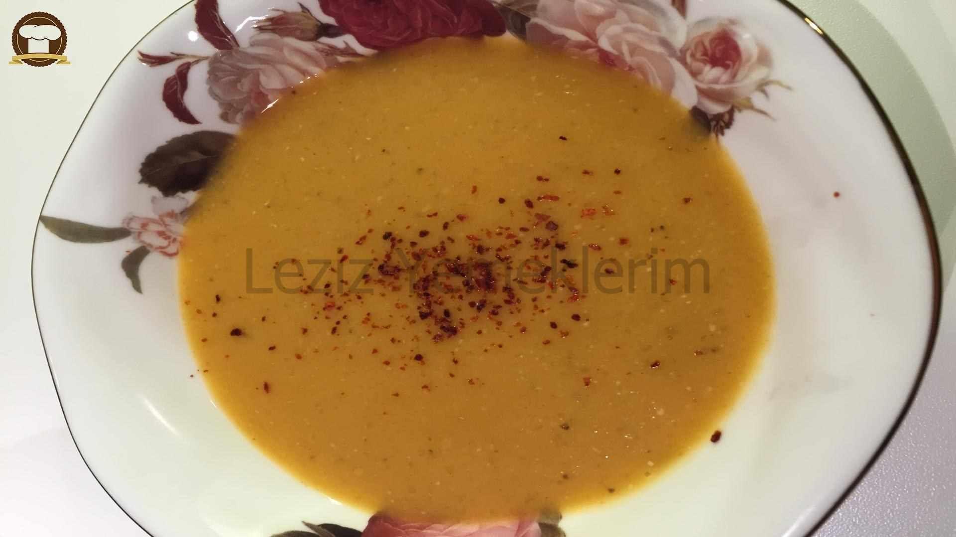 Çiçek hamurlu çorba tarifi