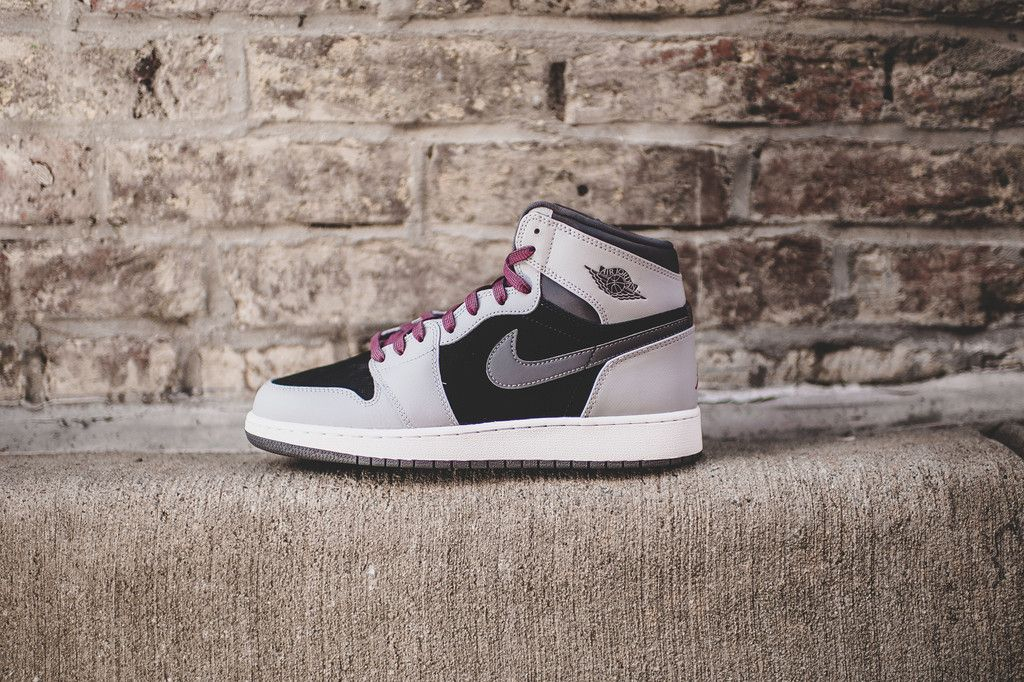 Air Jordan 1 Retro High GG (Wolf Grey/Sport Fuchsia) | rockcitykicks