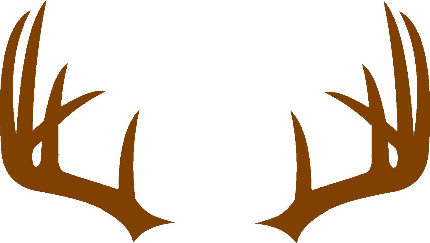 Deer Antler Monogram Frame SVG   Cameo Silhouette and SVG files ...