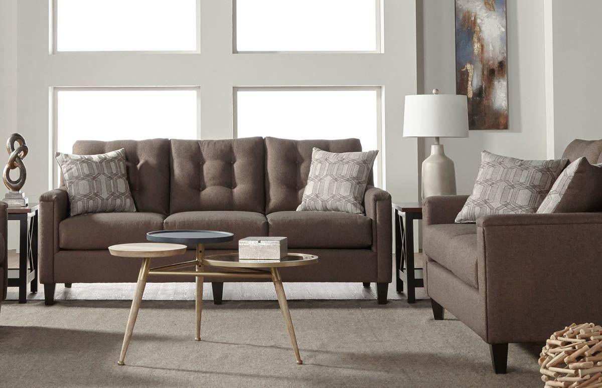 Veteran Brownstone Sofa And Love Seat Set 6800 799 00