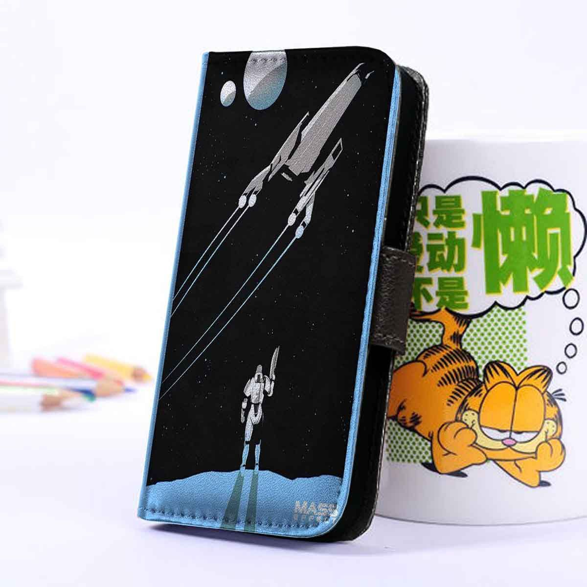 Mass Effect | Game | Wallet Case | iPhone 4 4S 5 5S 5C 6 6+ Case | Samsung Galaxy S3 S4 S5 Cover | HTC Cases - jackandgeorges