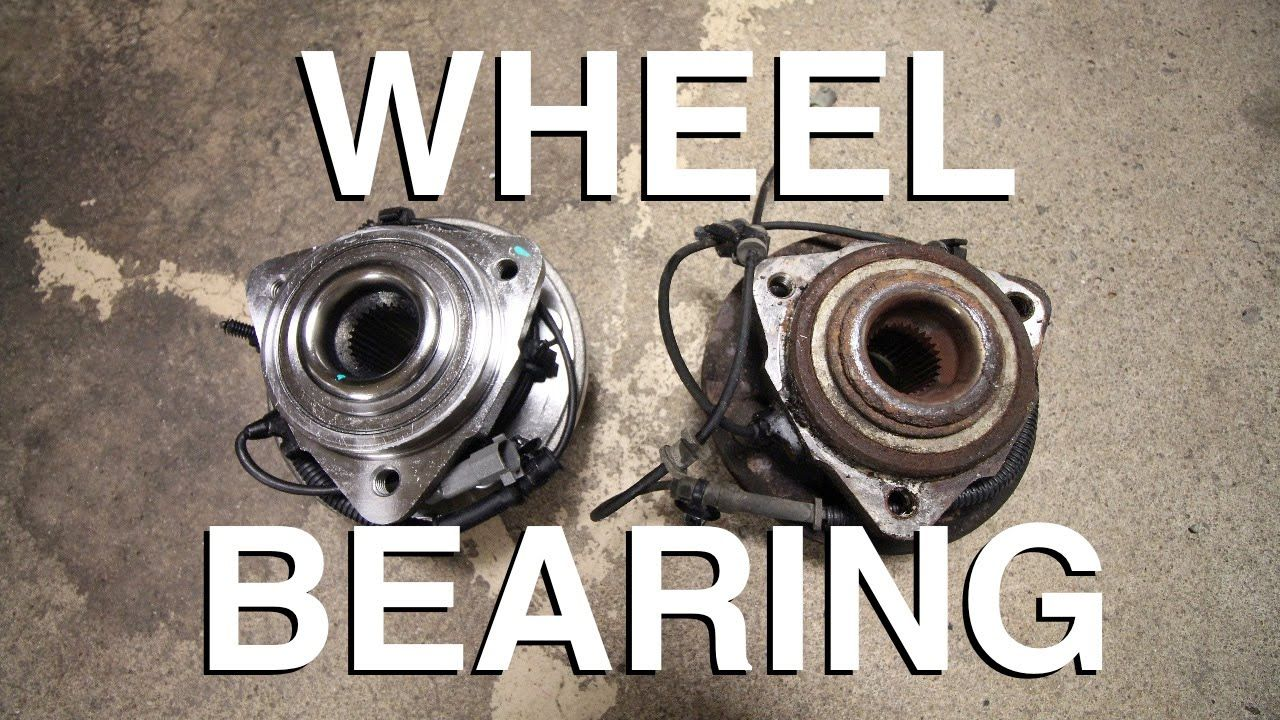 How to replace a hub wheel bearing assembly easy way