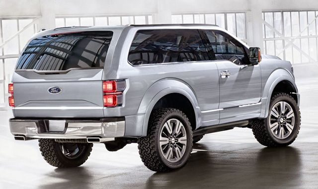 2016 ford bronco concept rear r i d e pinterest ford bronco concept and search. Black Bedroom Furniture Sets. Home Design Ideas