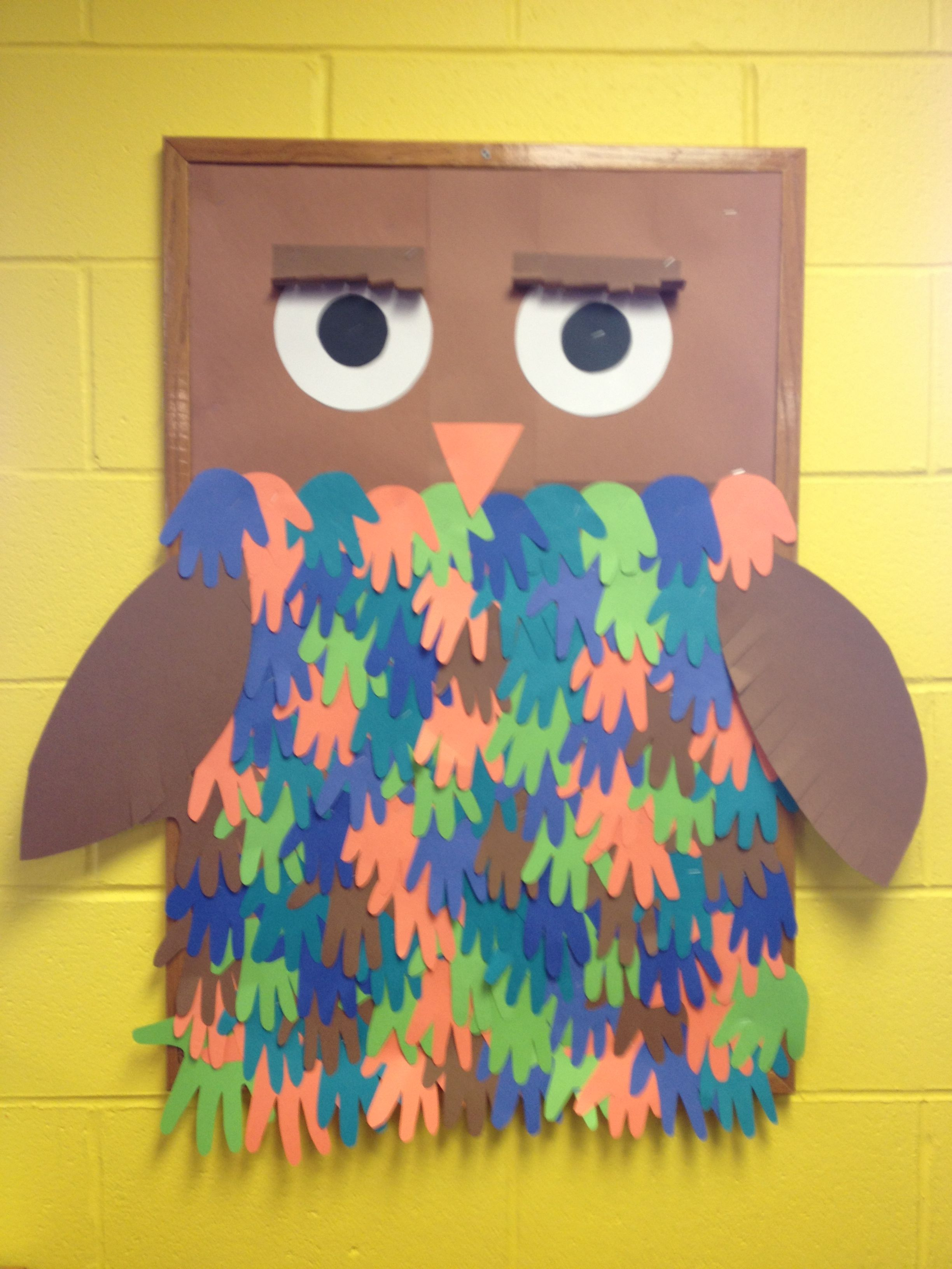 The Owl I Made For Our Fall Unit The Children S Hands