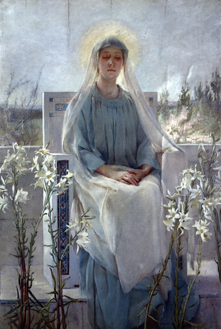 Meditation of The Holy Virgin (1889), Sarah Paxton Ball Dodson