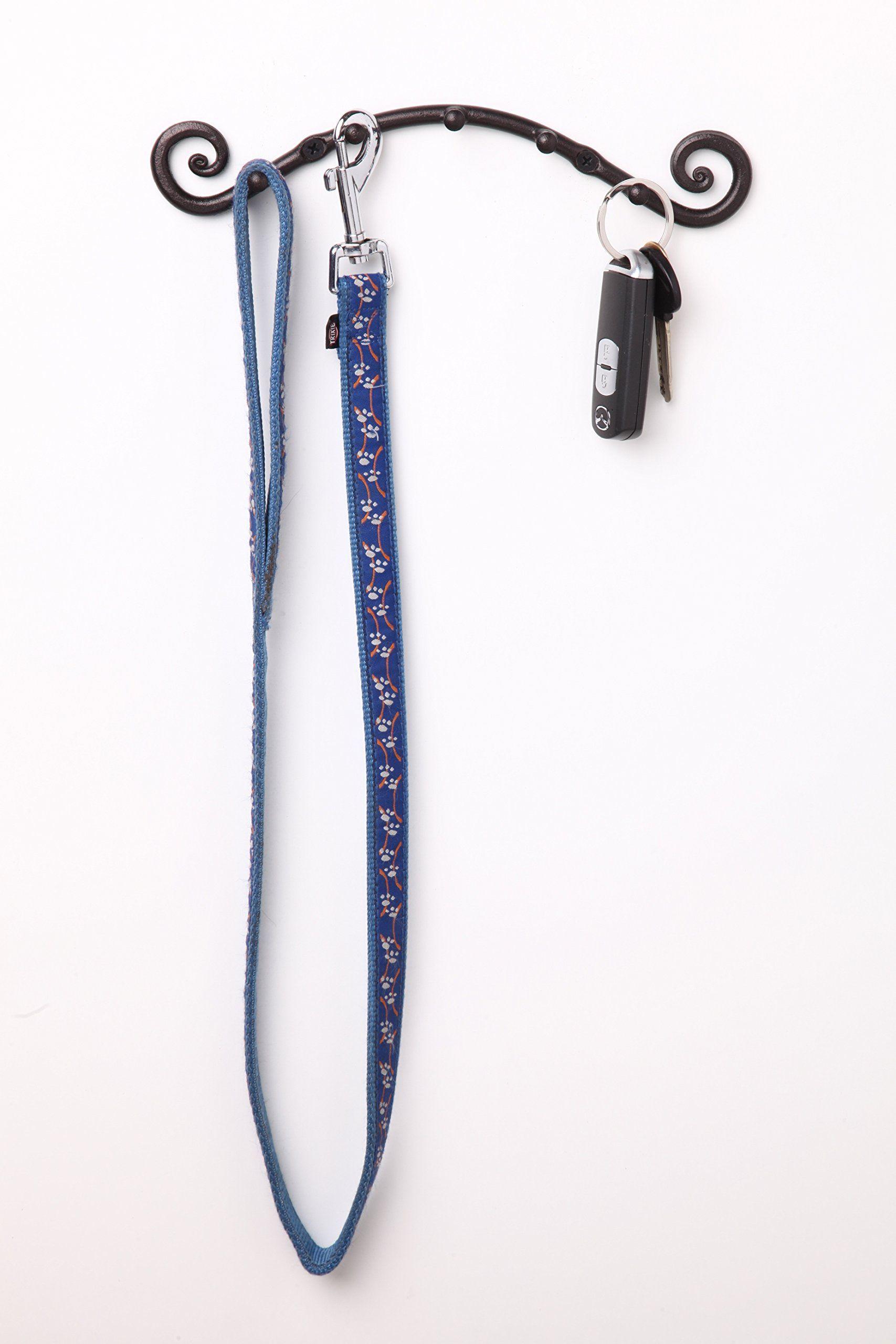 5 Hook Key HolderWall Mounted HangerWrought Iron Key Rack Handmade by