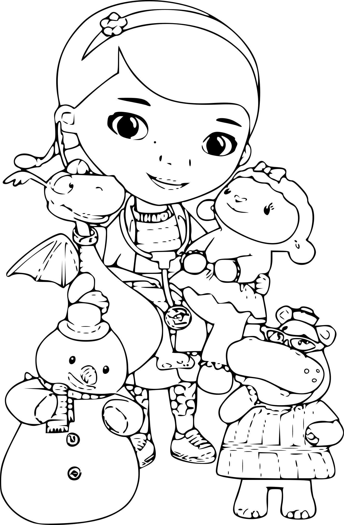 8 Coloriage Imprimer Docteur La Peluche Doc Mcstuffins Coloring Pages Disney Coloring Pages Cartoon Coloring Pages [ 2177 x 1426 Pixel ]