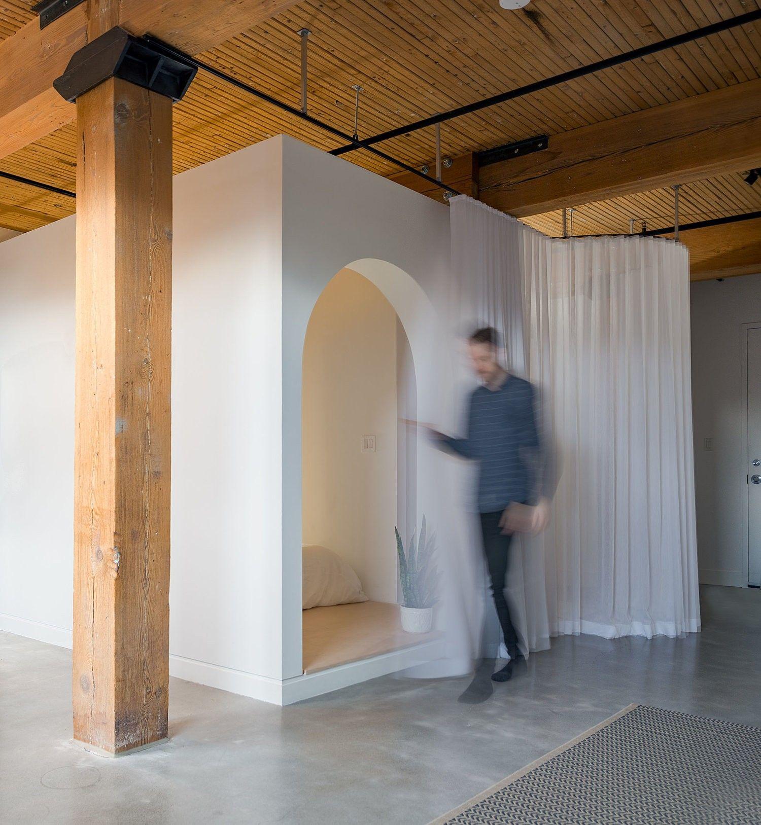 Broadview Loft rénovation d un appartement  Toronto par StudioAC