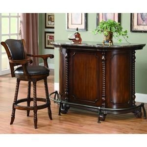Would Love To Have This Nice Bar Set Traditional In Warm Brown With Maple Top Nebraska Furniture Mart 1 500