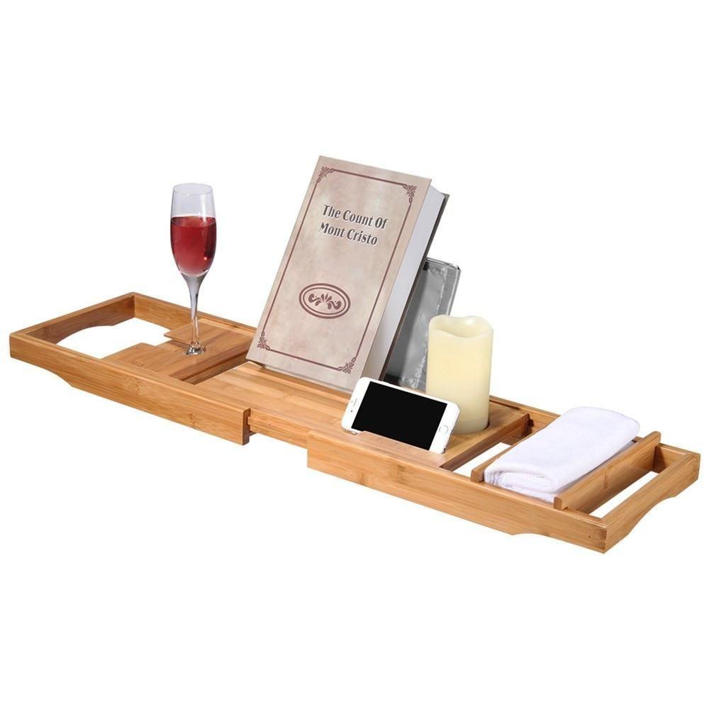 Bamboo Bath Tub Tray | Christmas List | Pinterest | Bath tubs, Tubs ...