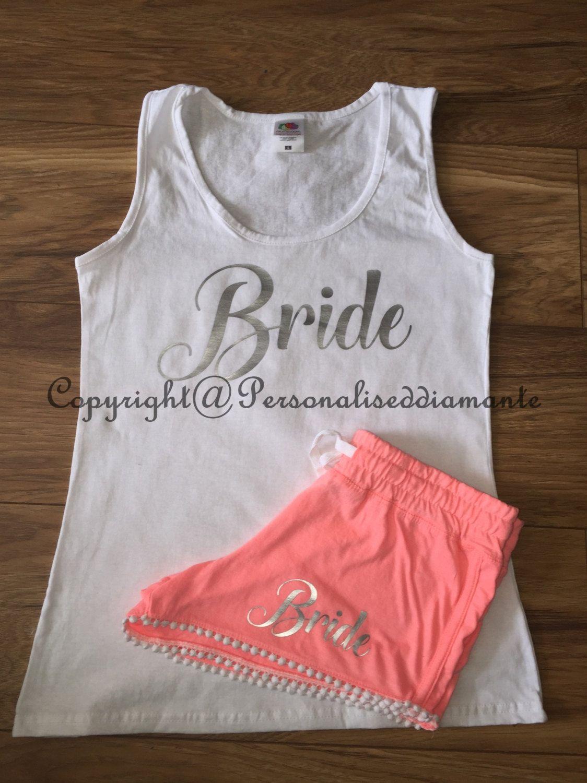 b2f2b650da Bride pajamas