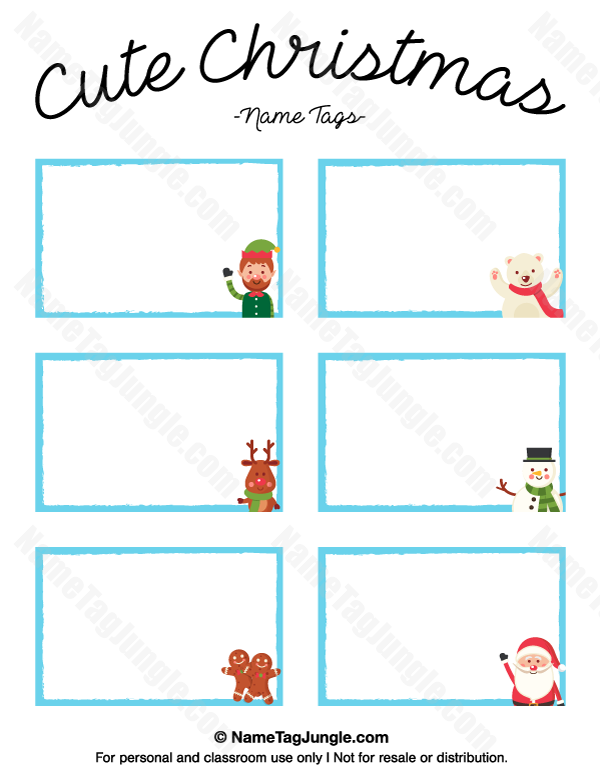 Pin By Pinning Teacher On Christmas Gifts Christmas Name Tags