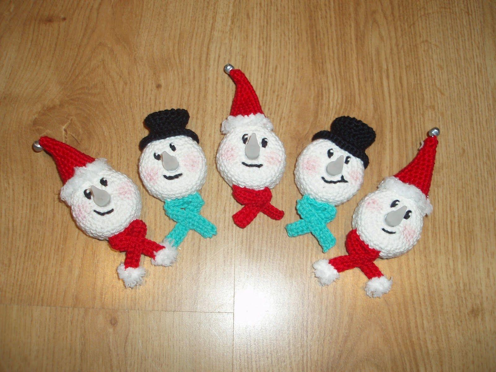 Amigurumi Leren Haken : Amigurumi haaksels kerst lichtje haakpatronen kerst crochet