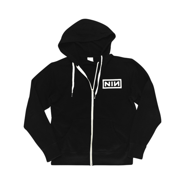 Logo zip-up hoodie - s | Zip, Hoodie and French terry