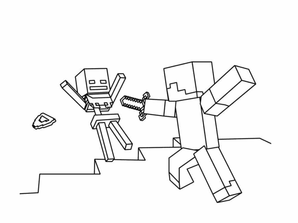 Coloriage Minecraft 20 Modeles A Imprimer Gratuitement Coloriage Minecraft Coloriage Dessin A Imprimer
