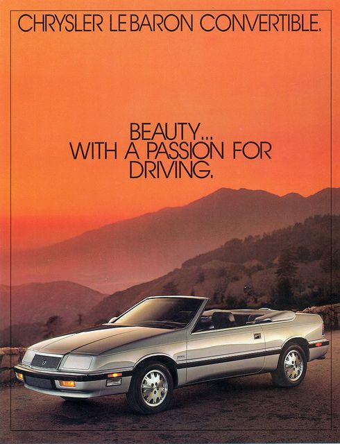 1987 Chrysler Lebaron Convertible Chrysler cars