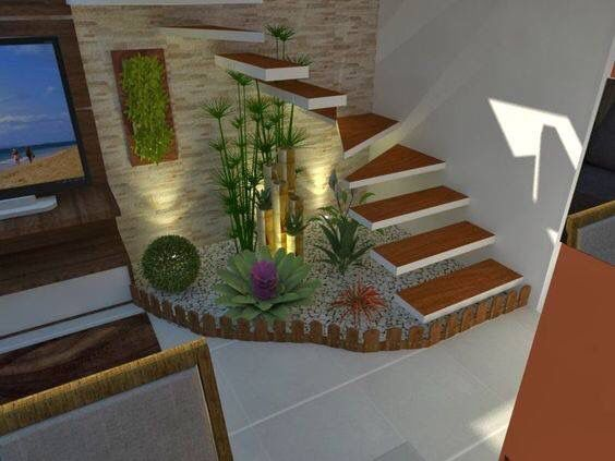Resultado de imagen para jardines para interiores peque os for Jardines pequenos con jardineras