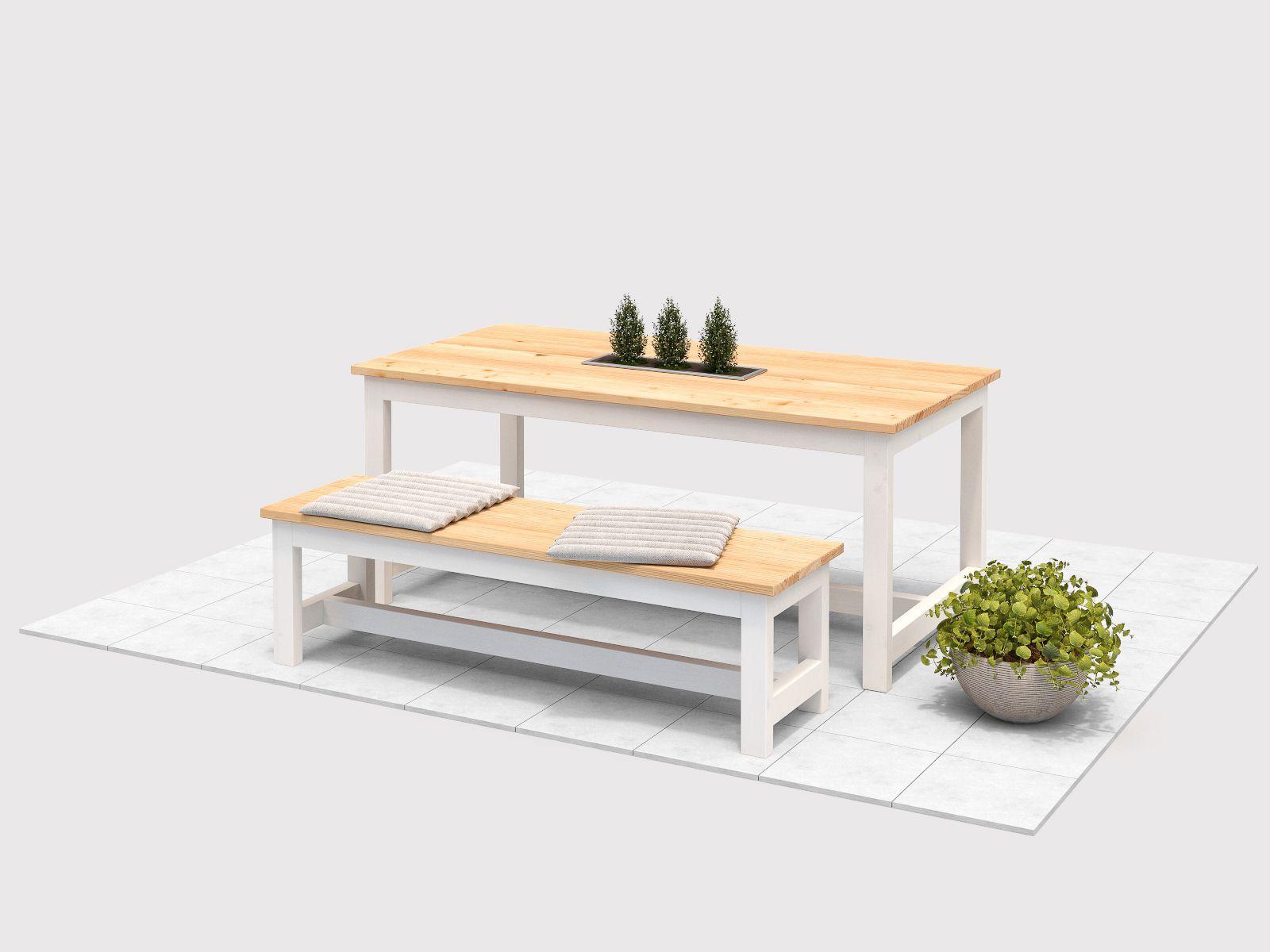 Gartentisch Richard Create By Obi Gartentisch Selber Bauen Esstisch Tisch Selber Bauen