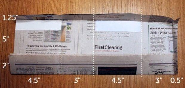 Bolsas con papel de periódico | La Bioguía