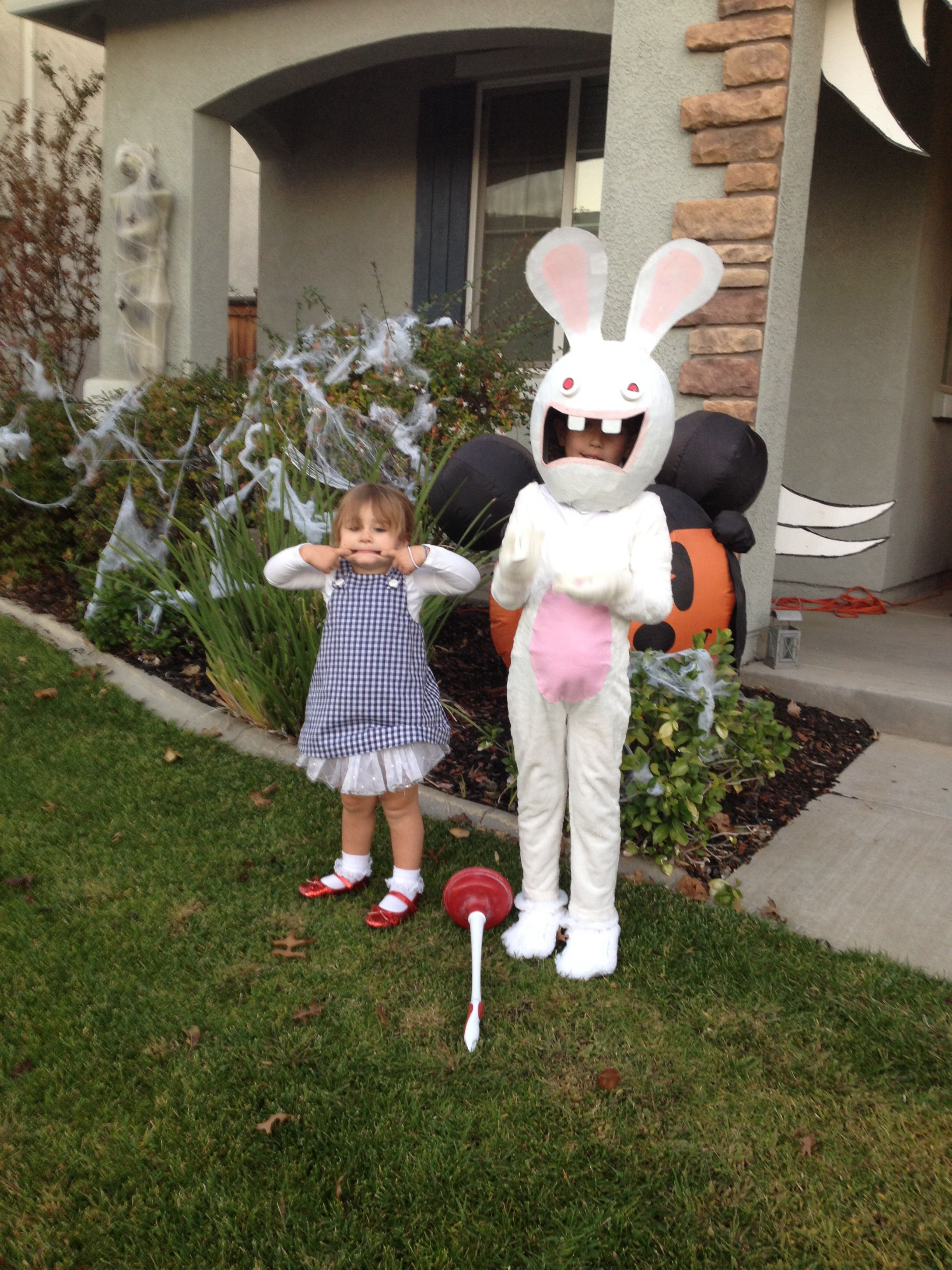 raving rabbids costume - Raving Rabbids Halloween Costume