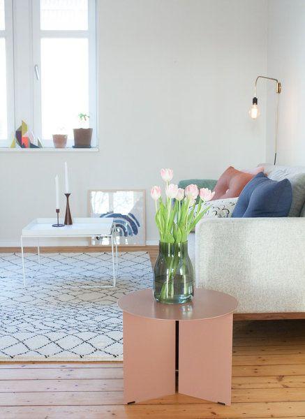 Endlich schöne Beistelltische! Scandinavian, Interiors and Spaces
