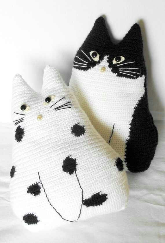 Crochet cats | CROCHET - VARIETY | Pinterest | Animales tejidos ...