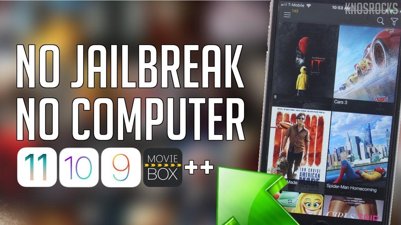 Install Movie Box ++ iOS 11 11.1.1 / 10 / 9 Free No
