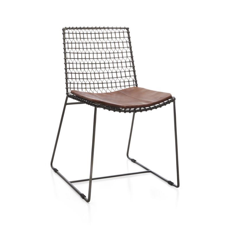 Tig Metal Dining Chair Reviews Crate And Barrel Dining Chairs Metal Dining Chairs Wire Dining Chairs