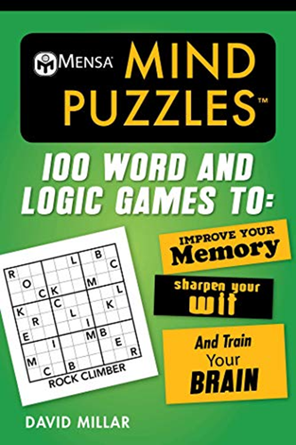 (2019) Mensa® Mind Puzzles 100 Word and Logic Games To