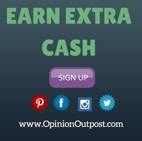 Do you want to earn extra $$? Join us today and get paid for your opinions! Click on the image.