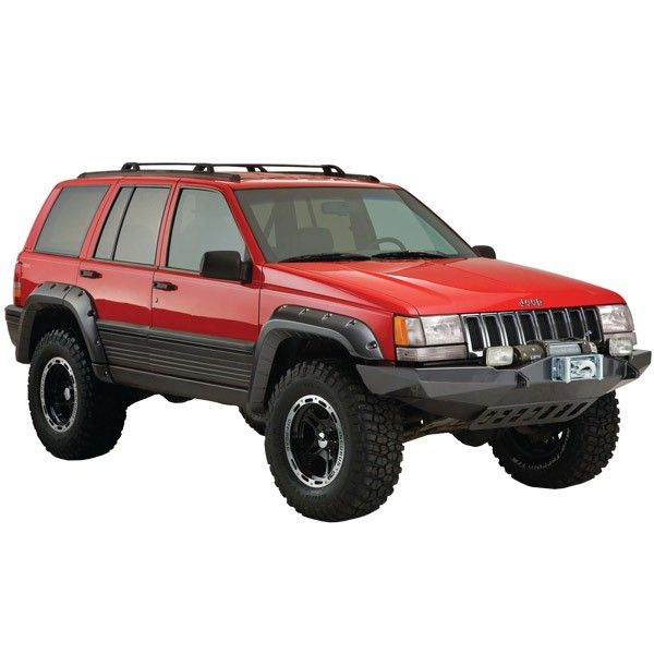 This Is Neat Maybe Minus The Skid Plate And Winch Jeep Grand Cherokee Zj Jeep Grand Cherokee Jeep Zj