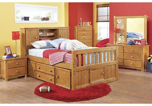 Shop For A Creekside 5 Pc Full Captains Bedroom At Rooms To Go Kids Find That Will Look Great In Your Hom Bedroom Furniture Stores Furniture Rooms To Go Kids