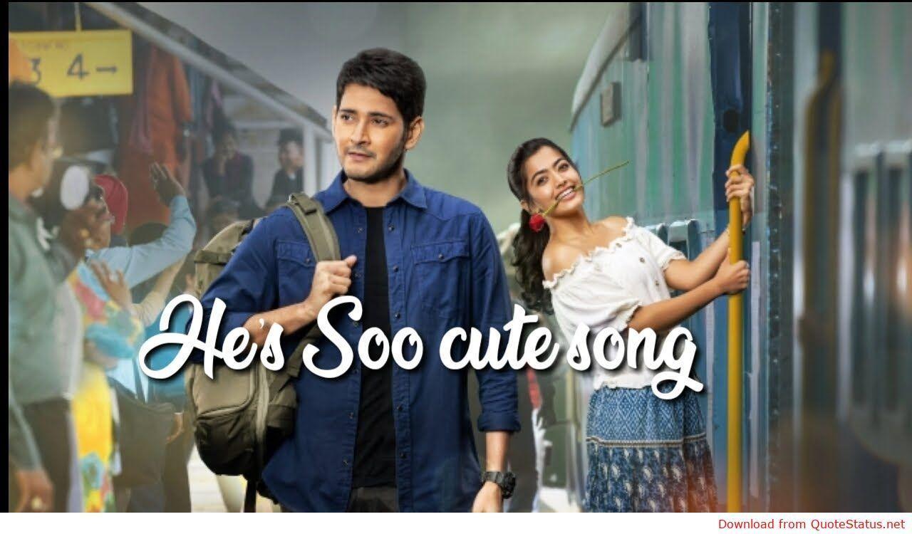 He S Soo Cute Sarileru Neekevvaru Song Download Video Status Mp3 Mp4 Telugu Song By Madhu Priya Songs New Song Download Cute Songs