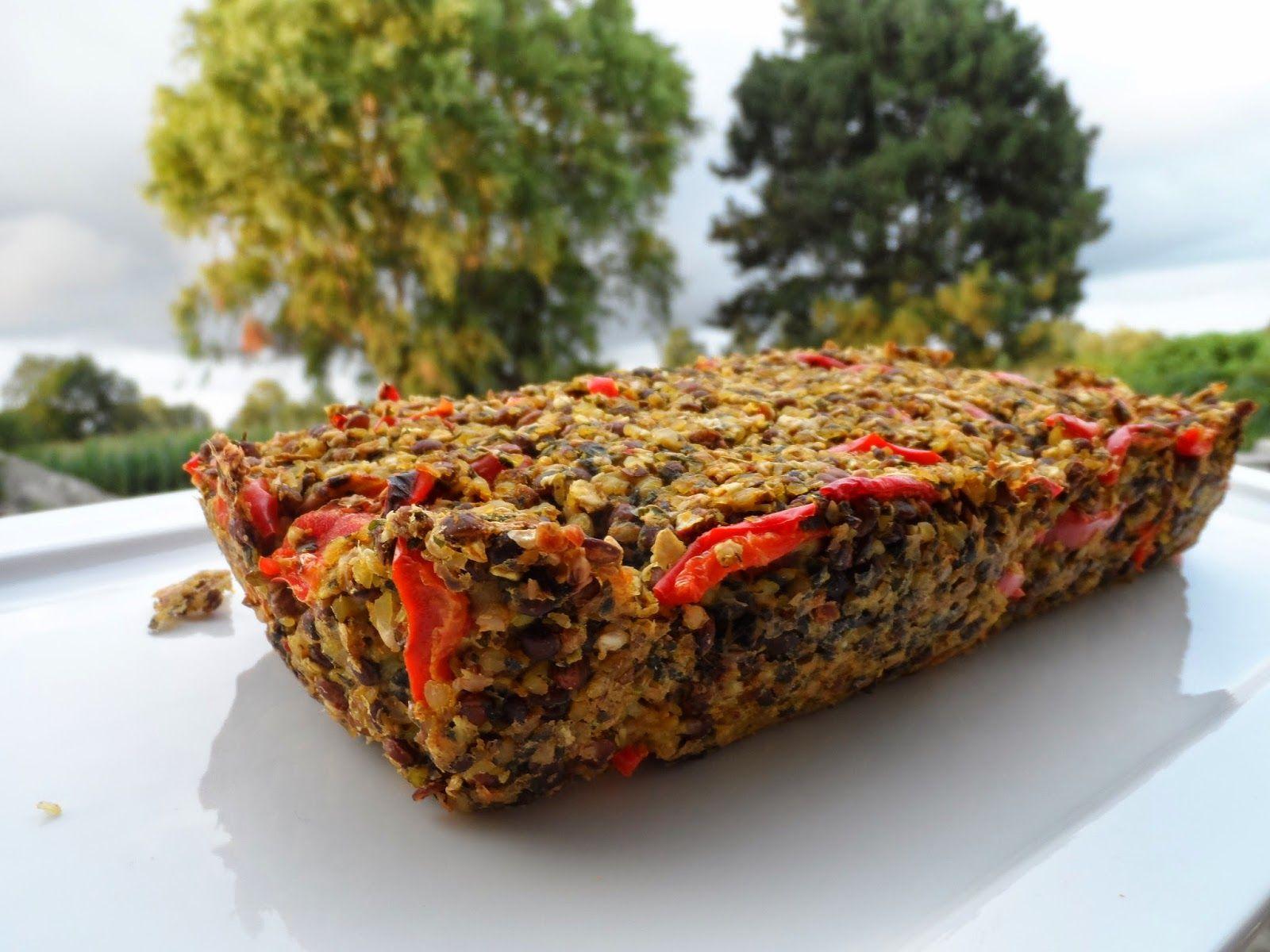 Veganistisch en voedselzandloper gehakbroodje, lekker warm én ook als broodbeleg