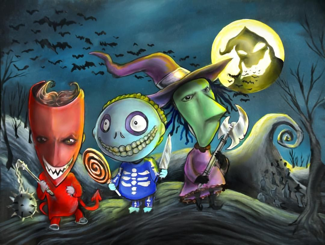 """✨It\'s your favorite trick or treaters """"Lock,... 