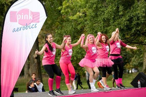 Pink Aerobics in Hyde Park October 2013