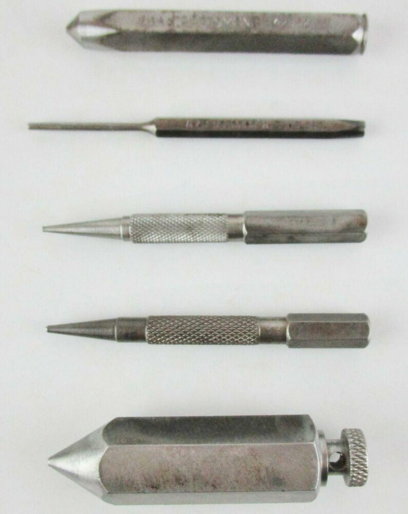 Vintage Carpenter Mechanic Tool Lot Punches Nail Sets Plumb Bob Craftsmancrvunknown In 2020 Mechanic Tools Antique Tools Nail Set
