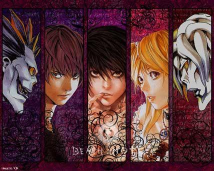 Death Note. La vida de Light Yagami cambiará por completo cuando se tope con un Death Note, un cuaderno que puede hacer que una persona muera tan sólo escribiendo su nombre y visualizando su rostro.