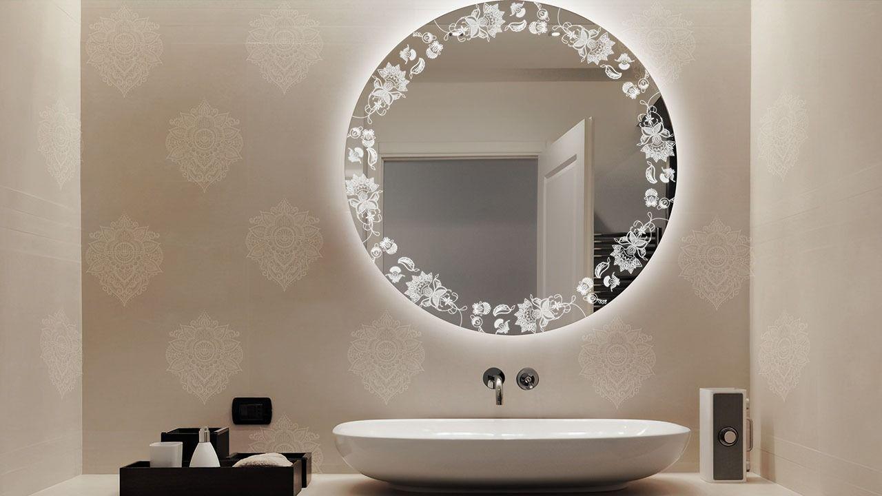 Etch Mirrors Etched Mirror Mirror Decor