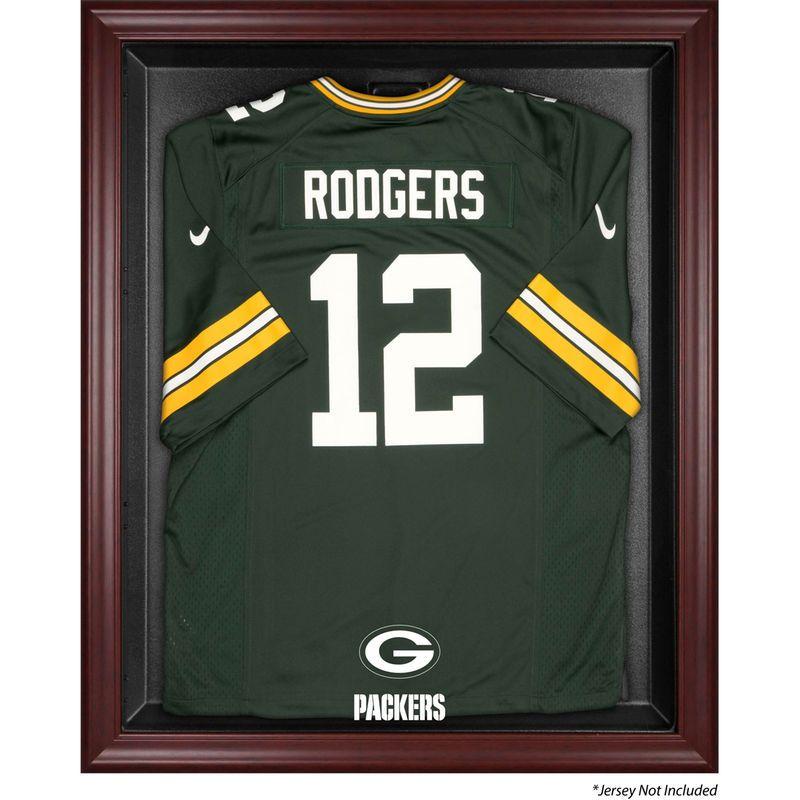 Green Bay Packers Fanatics Authentic Mahogany Framed Jersey Display Case