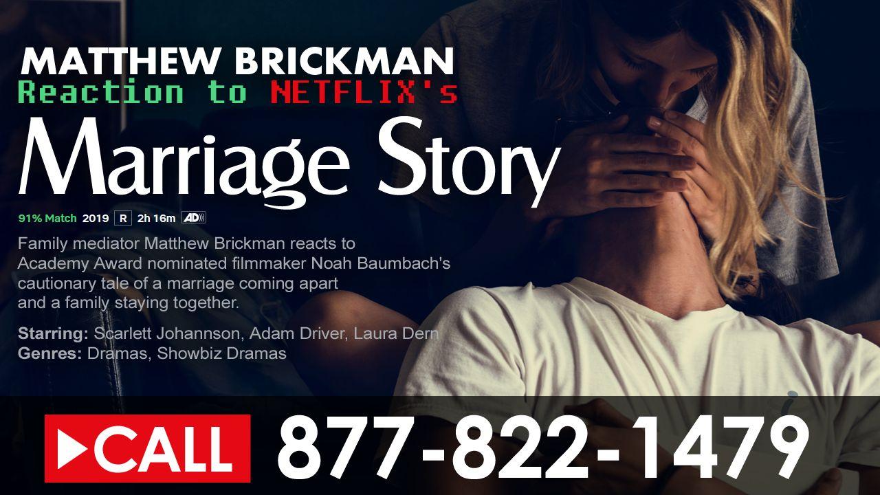 Matthew Brickman Reacts to Noah Baumbach's Netflix Film - Marriage Story #academyaward