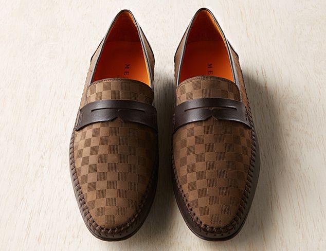 cd43e12950a Mezlan Mens Loafers with Soft Nappa Calfskin