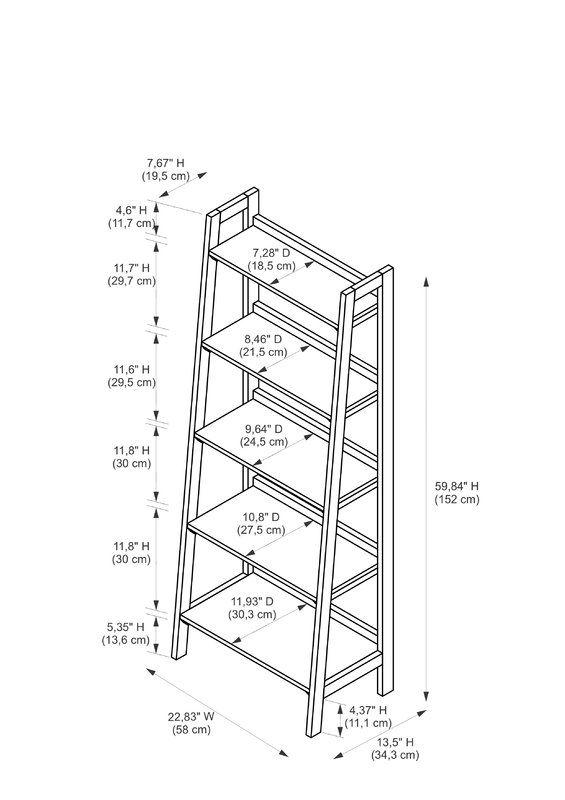 Hilbert etagere bookcase en 2019 estante muebles for Muebles industriales metal baratos