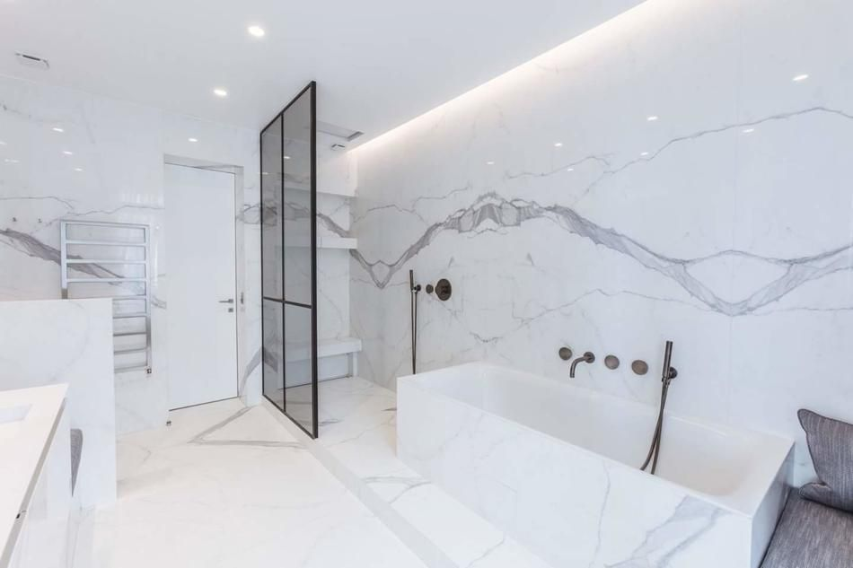 Realisation Salle De Bain Marbre Design Realisation