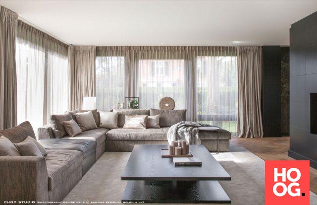 Moderne Woonkamer Inrichting : Moderne woonkamer inrichting met design meubels to je to in