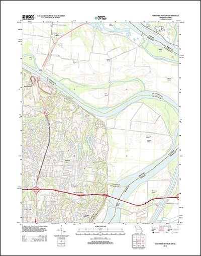 Structural Geology: USGS make available topographic maps ...