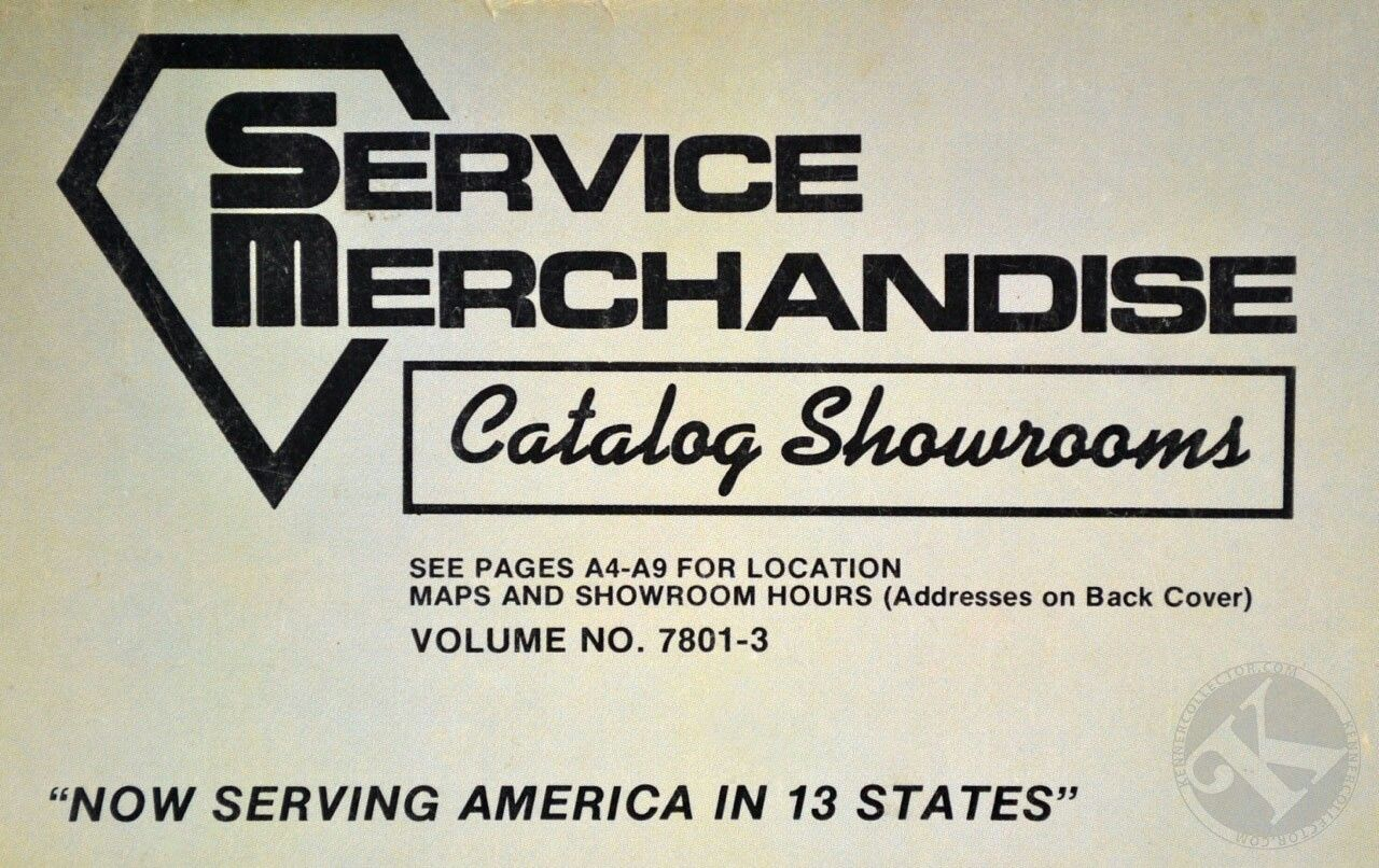 Service Merchandise Catalog Showroom Service Merchandise