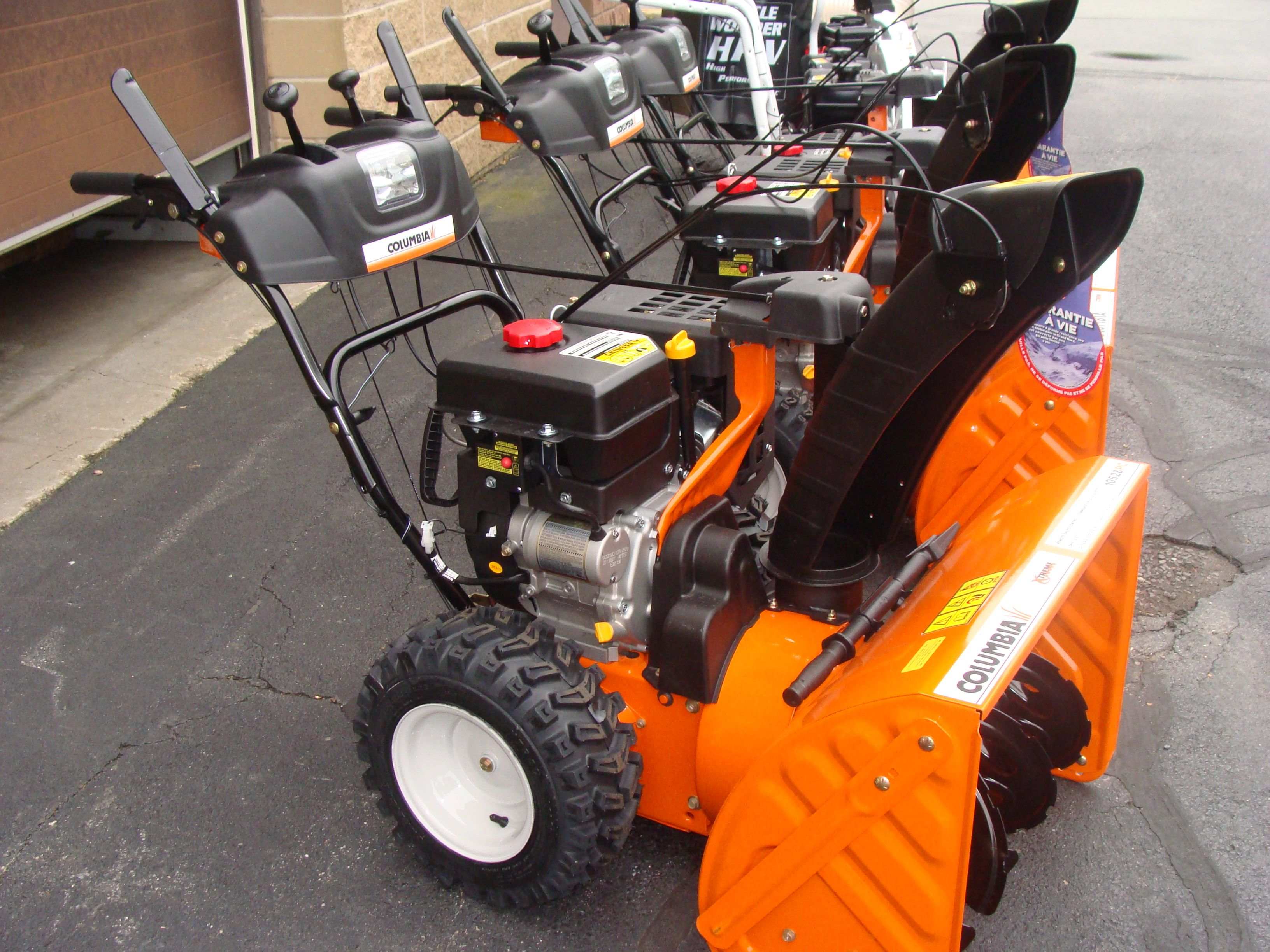 Now is the time to get your Snow BLower! Snow blower